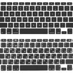 Американская и Европейская Apple клавитура и раскладка